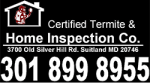 CERTIFIED TERMITE AND HOME INSPECTION CO