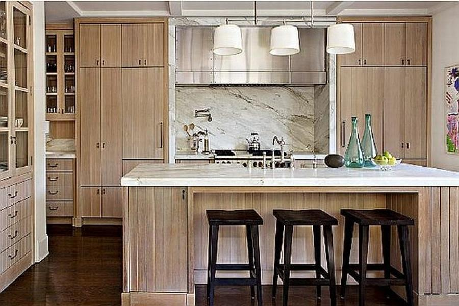 natural wood kitchen cabinets selling your home a kitchen clean up pays goodman 23713